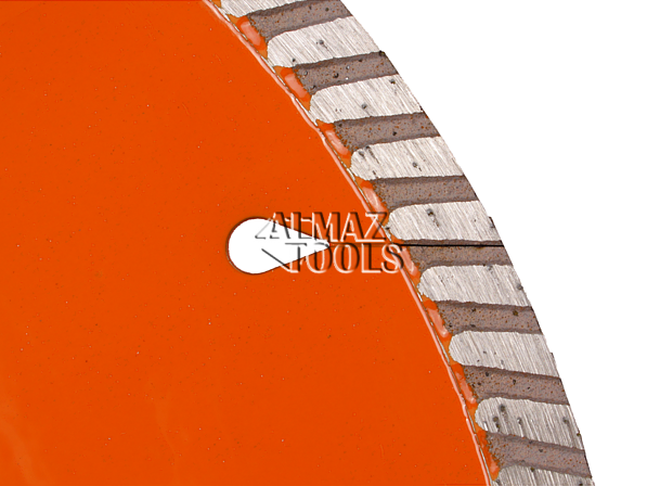 Алмазный круг отрезной ADTnS Turbo Laser/F GM - 2