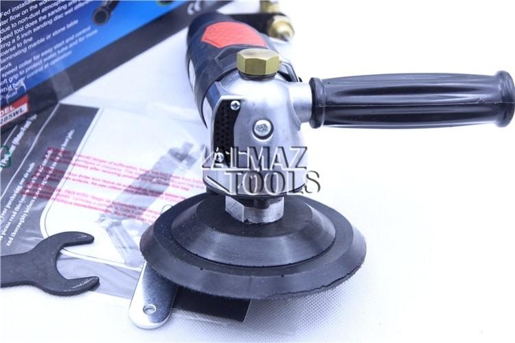 Пневмо шлифовальная угловая машинка Hymair - 2