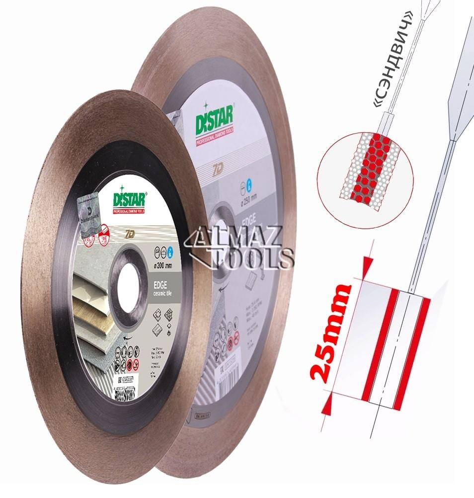 Distar Edge диск алмазный для реза под углом 45° - 2