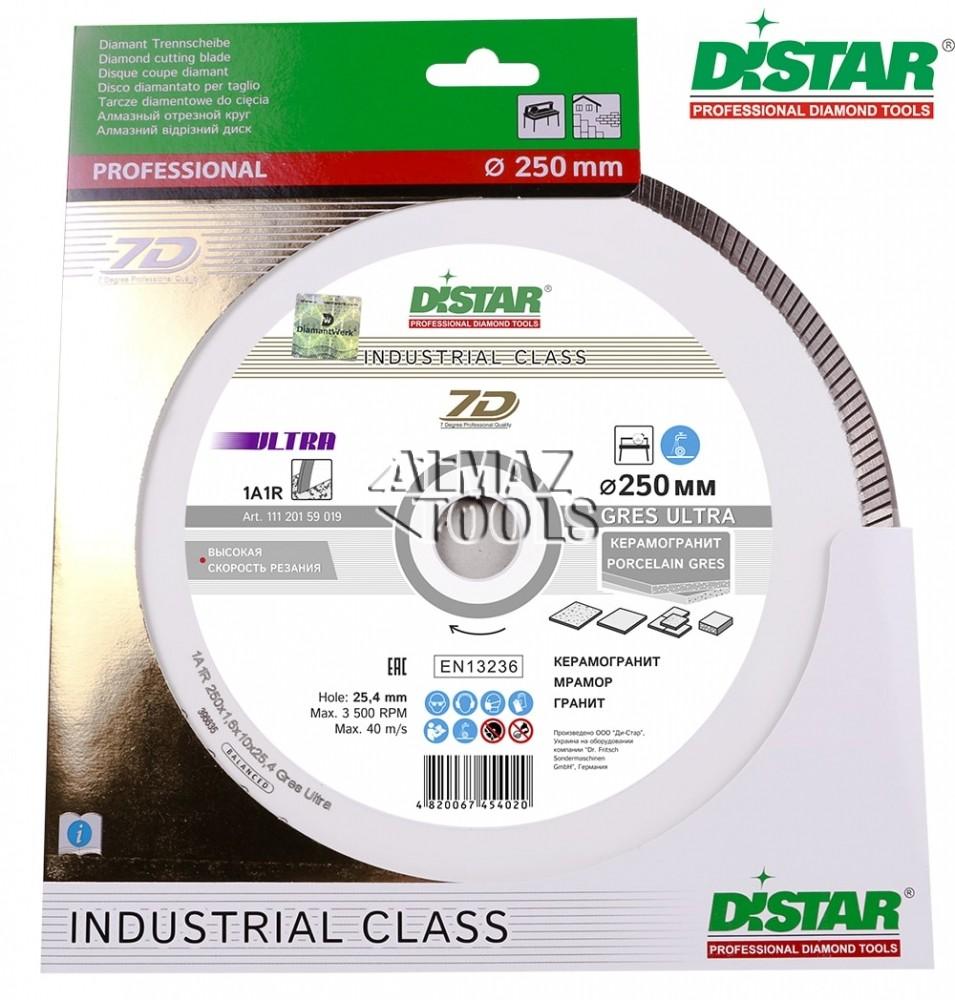 Круг алмазный отрезной Distar Gres Ultra 1A1R - 1